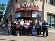 pickwickribboncutting